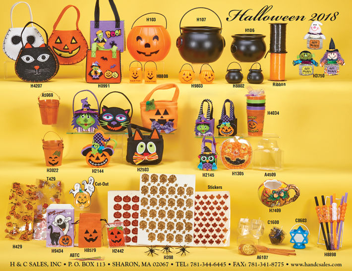 Halloween Novelties & Packaging for Confectionery