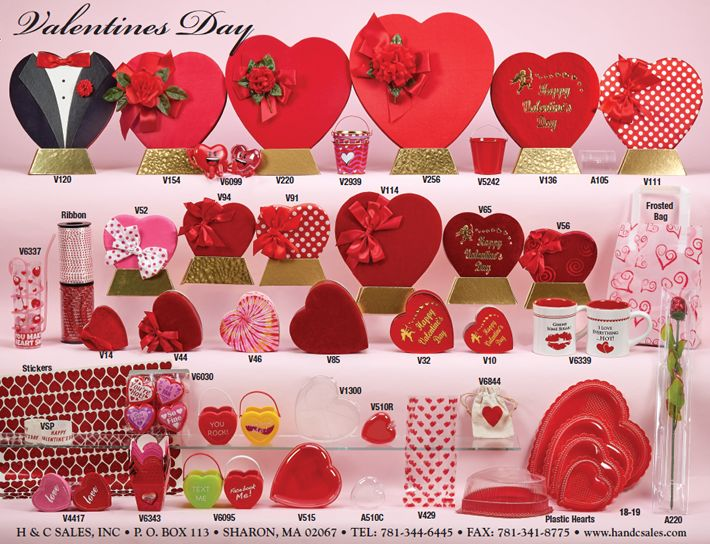 confectionery packaging, novelties, paper goods, supplies